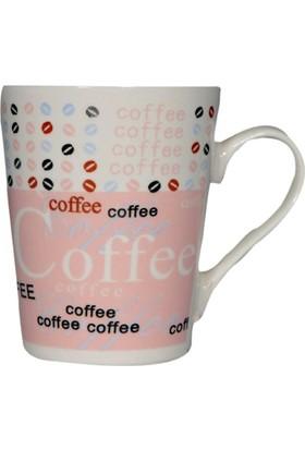 Bahat Tedarik Porselen Kupa Bardak Coffee Baskılı