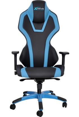 Xdrive Oyuncu Koltukları Xdrive Bora Profesyonel Oyun | Oyuncu Koltuğu Mavi/Siyah