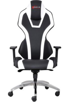 Xdrive Oyuncu Koltukları Xdrive Bora Profesyonel Oyun | Oyuncu Koltuğu Beyaz/Siyah