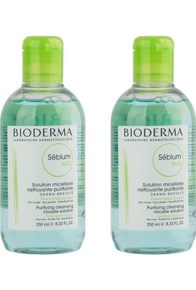 Bioderma Sebium H2O 2x250ml İkiz Set