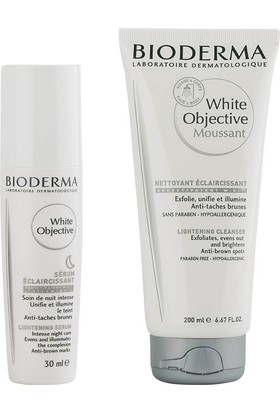 Bioderma White Objective Serum 30ml Cleanser 200ml Set
