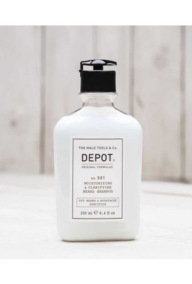 Depot No 501 Beard Shampoo Nemlendirici Ve Temizleyici Sakal Şampuanı 250Ml