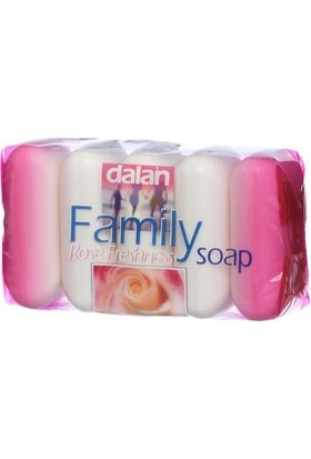 Dalan Family El Sabunu Gül Özlü 5 Li