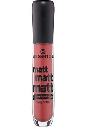 Essence Matt Matt Matt Longlasting Lipgloss 08