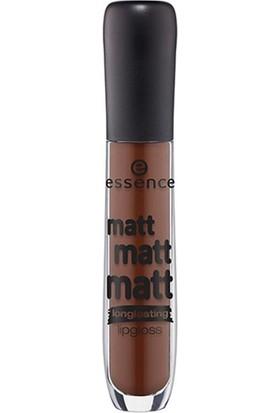Essence Matt Matt Matt Longlasting Lipgloss 09