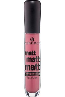 Essence Matt Matt Matt Longlasting Lipgloss 10