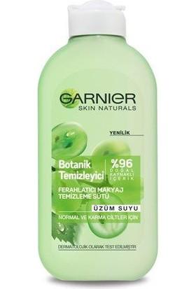 Garnier Botanik Temizleyici Ferahlatıcı Makyaj Temizleme Sütü Üzüm Suyu200 Ml