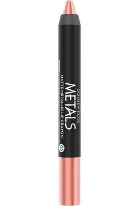 Golden Rose Metals Matte Metallic Lip Crayon No:02