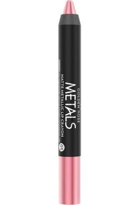 Golden Rose Metals Matte Metallic Lip Crayon No:05