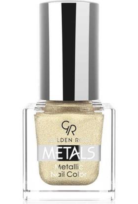 Golden Rose Metals Metallic Nail No:102