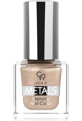 Golden Rose Metals Metallic Nail No:106