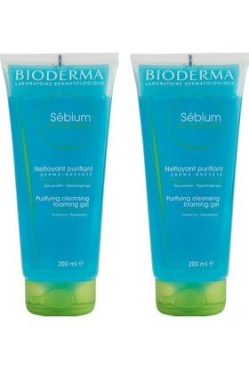 Bioderma Sebium Foaming Gel 2x200ml Tüp