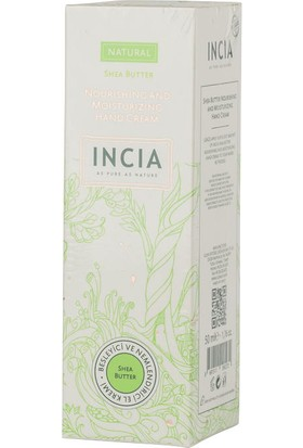 Incia Nourishing and Moisturizing Hand Cream 50ml