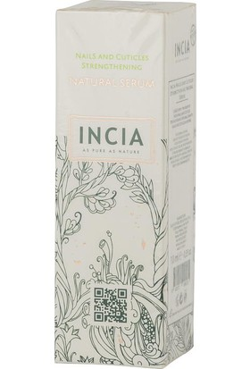 Incia Nails and Cuticles Strengthening Natural Ser
