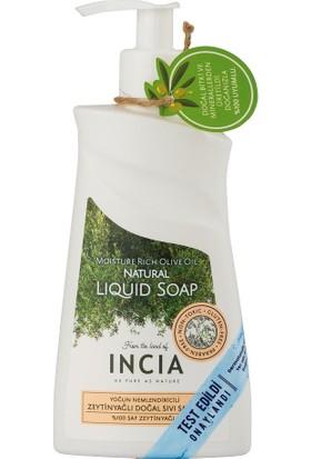 Incia Moisture Rich Olive Oil Natural Liquid Soap