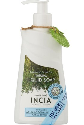 Incia Purifying Olive Oil Natural Liquid Soap 250m