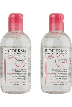 Bioderma Sensibio H2O 2x250ml İkiz Set