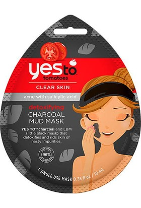 Yes To Tomatoes Charcoal Mud Mask 10ml