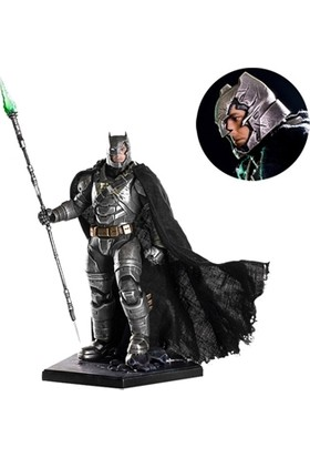 Iron Studios Armored Battle Damaged Batman Bvs: Dawn Of Justice Art Scale Statue