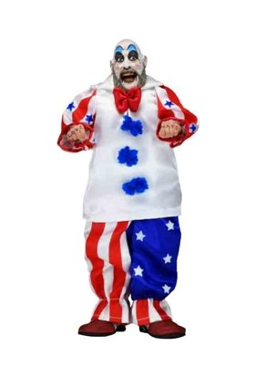 Neca House Of 1000 Corpses: Captain Spaulding Clothed Figure