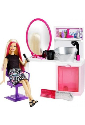 Barbie Kuaför Salonu Oyun Seti