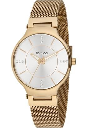 Ferrucci Fc11007H.02 Hasır Kordonlu Kadın Kol Saati