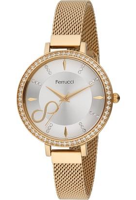 Ferrucci Fc11389H.01 Hasır Kordonlu Kadın Kol Saati