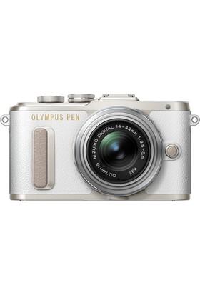 Olympus E-Pl8 Ez 14-42 Kit Beyaz/Gümüş