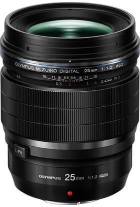 Olympus Lens 25Mm 1,2 Pro Black