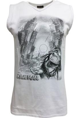 Dayk V-Yaka Basic Kolsuz T-Shirt