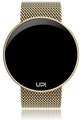 Upwatch Round Steel Gold Unisex Kol Saati