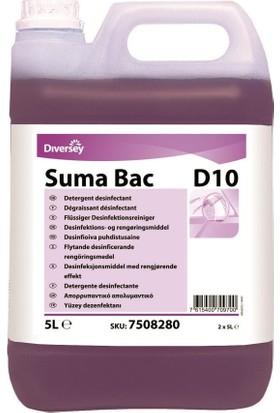 Diversey Suma Bac D10 Dezenfektanlı Deterjan (Qac'li) 5.30 kg