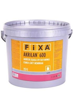 Fixa Akrilan 600-Akrilik Esaslı Uv Dayanımlı Esnek Likit Membran