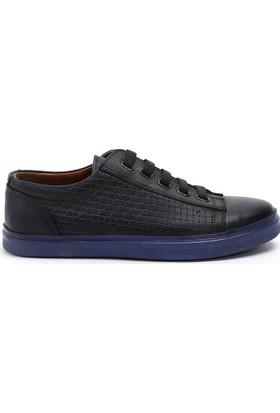 19V69 Italia Erkek Hakiki Deri Ayakkabı 7Vok60450-05Af4