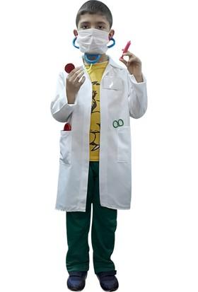 Çocuk Doktor Önlüğü Erkek / Kız Uyumlu