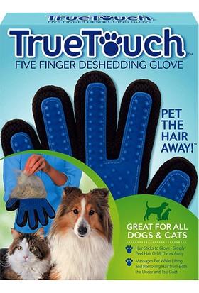 True Touch Kedi ve Köpek İçin Temizleme ve Masaj Eldiveni