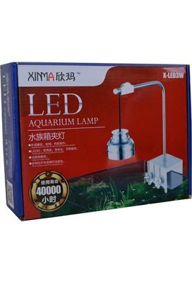 Xinma X-LED3W Akvaryum Armatürü