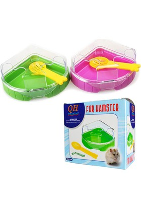 Qh Hamster Tuvalet Seti