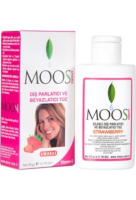 Moos Tooth Powder Strawberry 50g