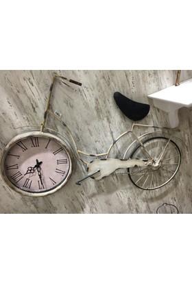 Cool Beyaz Bisiklet Model Saat