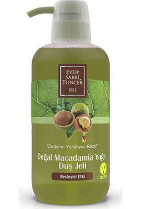 Eyüp Sabri Tuncer Doğal Macadamia Yağlı Duş Jeli 600 Ml Pet Şişe
