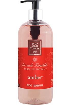 Eyüp Sabri Tuncer Doğal Zeytinyağlı Sıvı Sabun Amber 500 Ml Pet Şişe