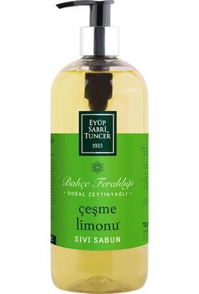 Eyüp Sabri Tuncer Doğal Zeytinyağlı Sıvı Sabun Çeşme Limonu 500 Ml Pet Şişe