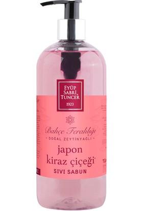 Eyüp Sabri Tuncer Doğal Zeytinyağlı Sıvı Sabun Japon Kiraz Çiçeği 500 Ml Pet Şişe
