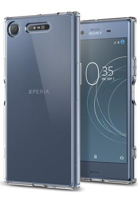 Spigen Sony Xperia XZ1 Kılıf Ultra Hybrid Crystal Clear - G11CS22412
