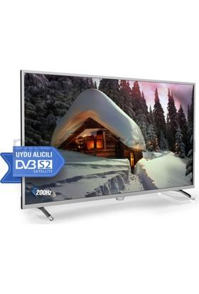 "Axen Ilgaz Siyah AX43DIL005/1032-B 43"" 109 Ekran Full HD Dled Uydulu LED TV TRAXDLD043222700"