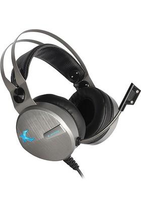 Rampage SN-RX8 Oyuncu Gümüş Mikrofonlu Kulaklık