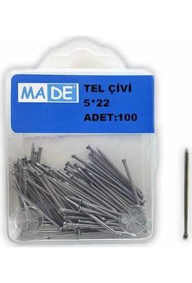 Made Tel Çivi 5X22 (1 Kutu:100 Adet)