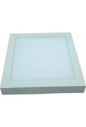 D-Light Sıvaüstü Kare Led Panel 18 Watt