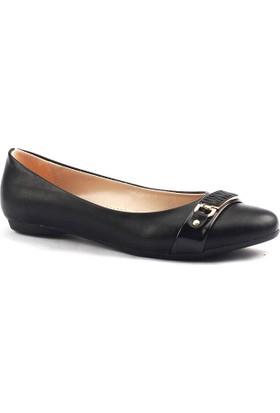 Alens 34 Yürüyüş Tokalı Bayan Babet Ayakkabı